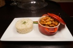 DVees Posh Beans (Beans stew, smoked chicken with basmati rice)