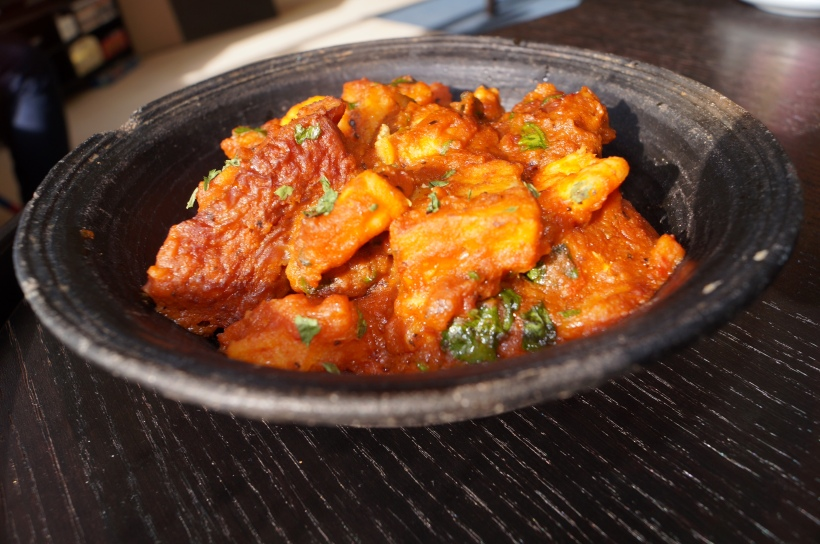 Yam Pottage (Rich, slow-cooked one pot dish of yams cooked in a palm oil pepper sauce)